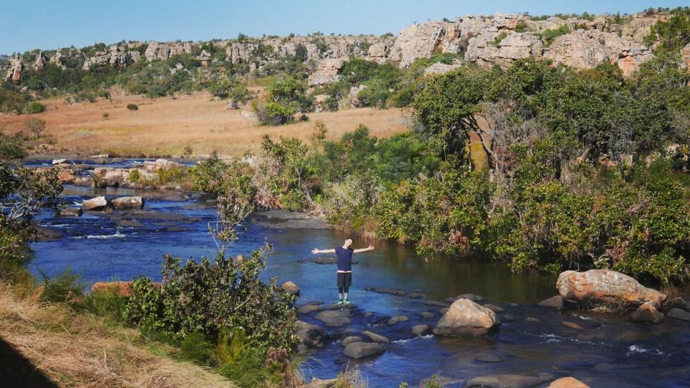 Blyde River Canyon - 11 Potluck Boskombuis