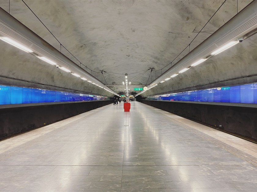 12 Stockholm Subway Bagarmossen 1