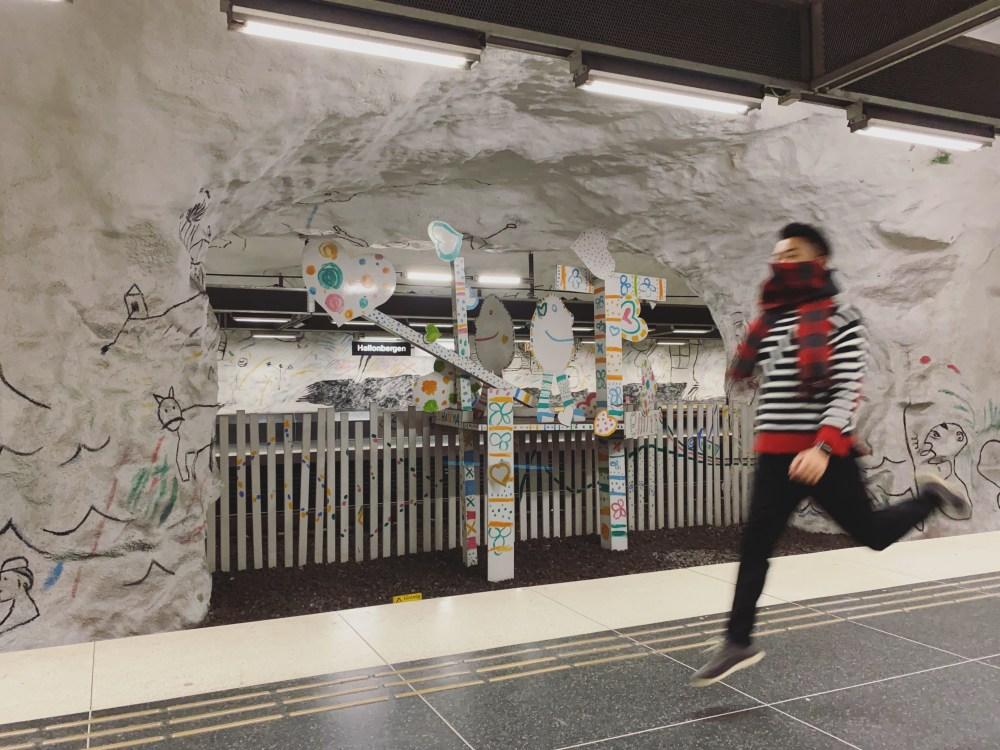 5 Stockholm Subway Hallonbergen 1