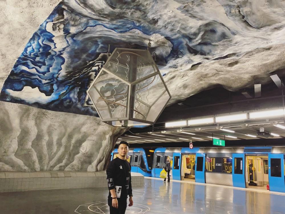 8 Stockholm Subway Tekniska Högskolan 1