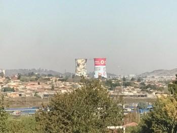 Soweto 8 Orland Power Station Chimneys