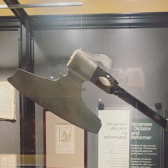 Executioner's Axe - The Royal Physician Beheaded for the Queen. Johan Fredrich Struensee is the main character of Denmark's most dramatic love affair. He was the physician of Christian VII (1749-1808), responsible for the insane king's health and mind. He became the king's, right-hand man. Queen Caroline Mathilde fell in love with him he had an entire kingdom in the palm of his hand and used his power to abolish torture and censorship. The Danish aristocracy was fuming with rage at his arrogance and reforms, and together with Dowager Queen Juliane Marie, they turned the empire against him. In 1772 he was arrested for treason against the king and beheaded with his axe.