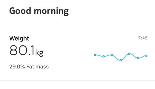 3週間で体重1%減るらしいスムージー生活