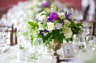 Purple Carnations by KO Events