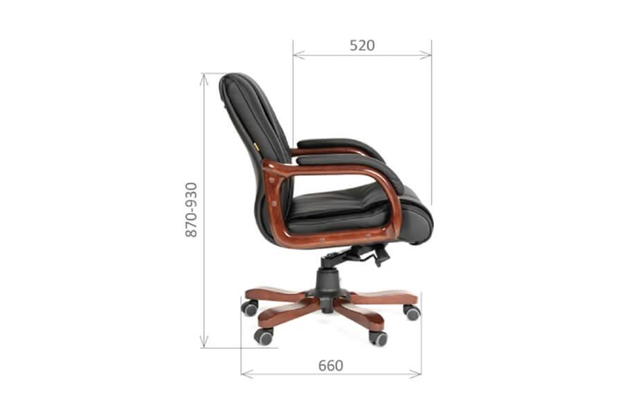 Компьютерное кресло CHAIRMAN 653 M КОЖА