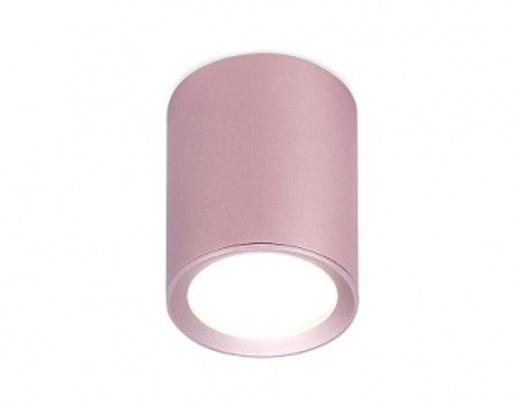 Накладной точечный светильник TN214-215-216 BK/S розовый GU5.3 D56*70