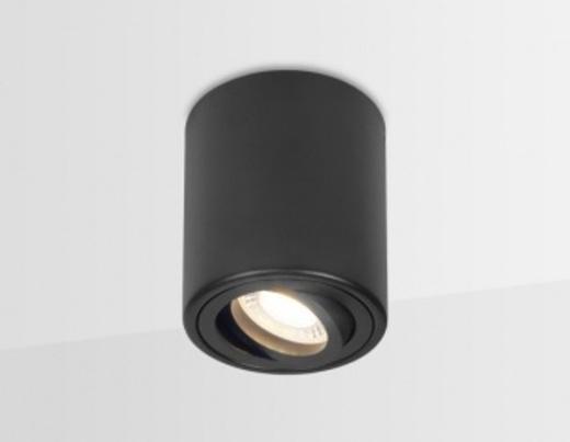 Накладной поворотный точечный светильник TN226 WH черный GU5.3 D80*100