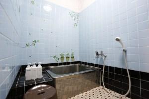 ゲストハウス有鄰庵のシャワールーム