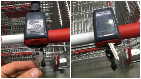 Как да си отключим количка за пазар