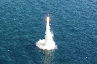 """Руската хиперзвукова противокорабна крилата ракета """"Циркон"""""""