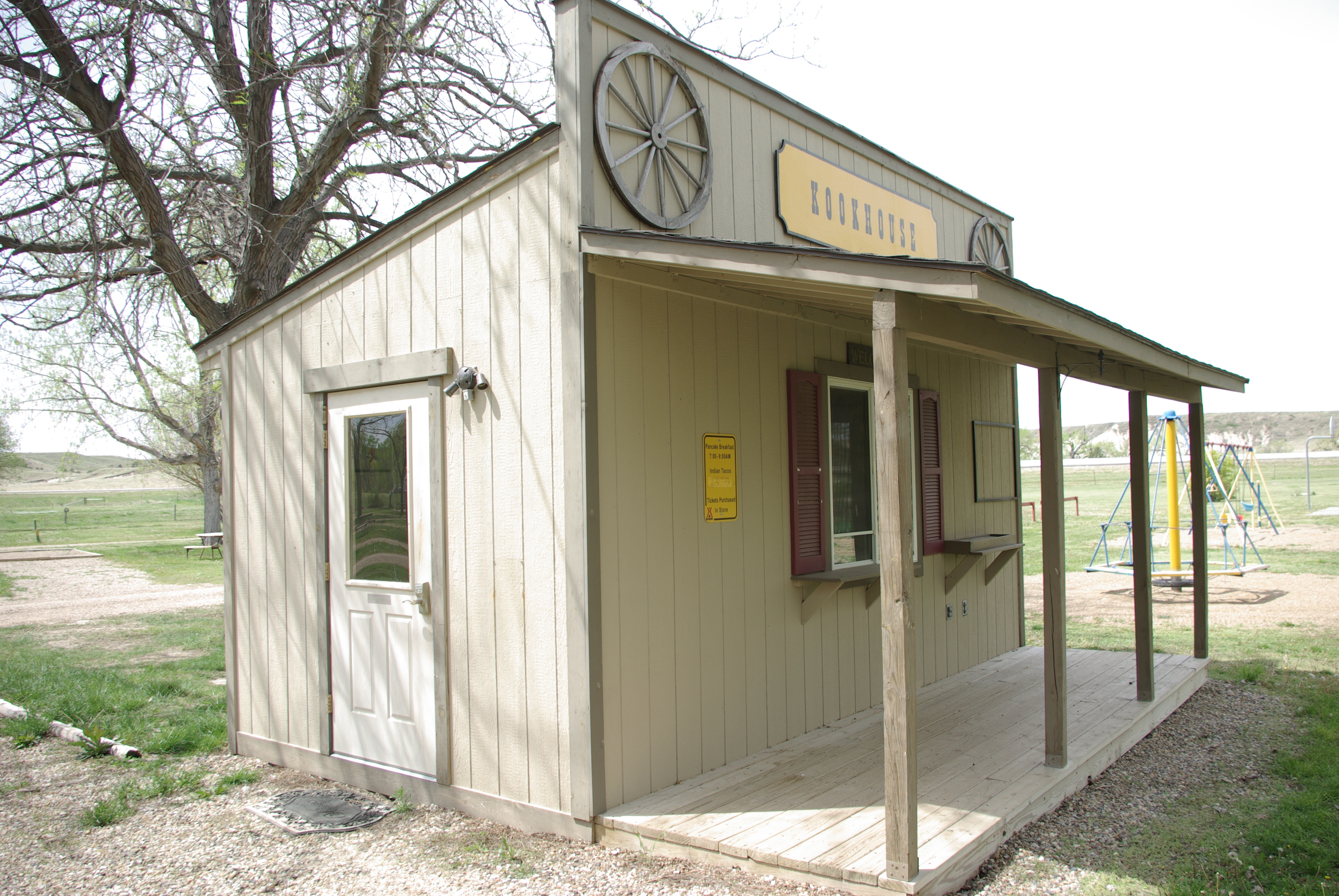 The Cook Shack Food Services For The Badlands White