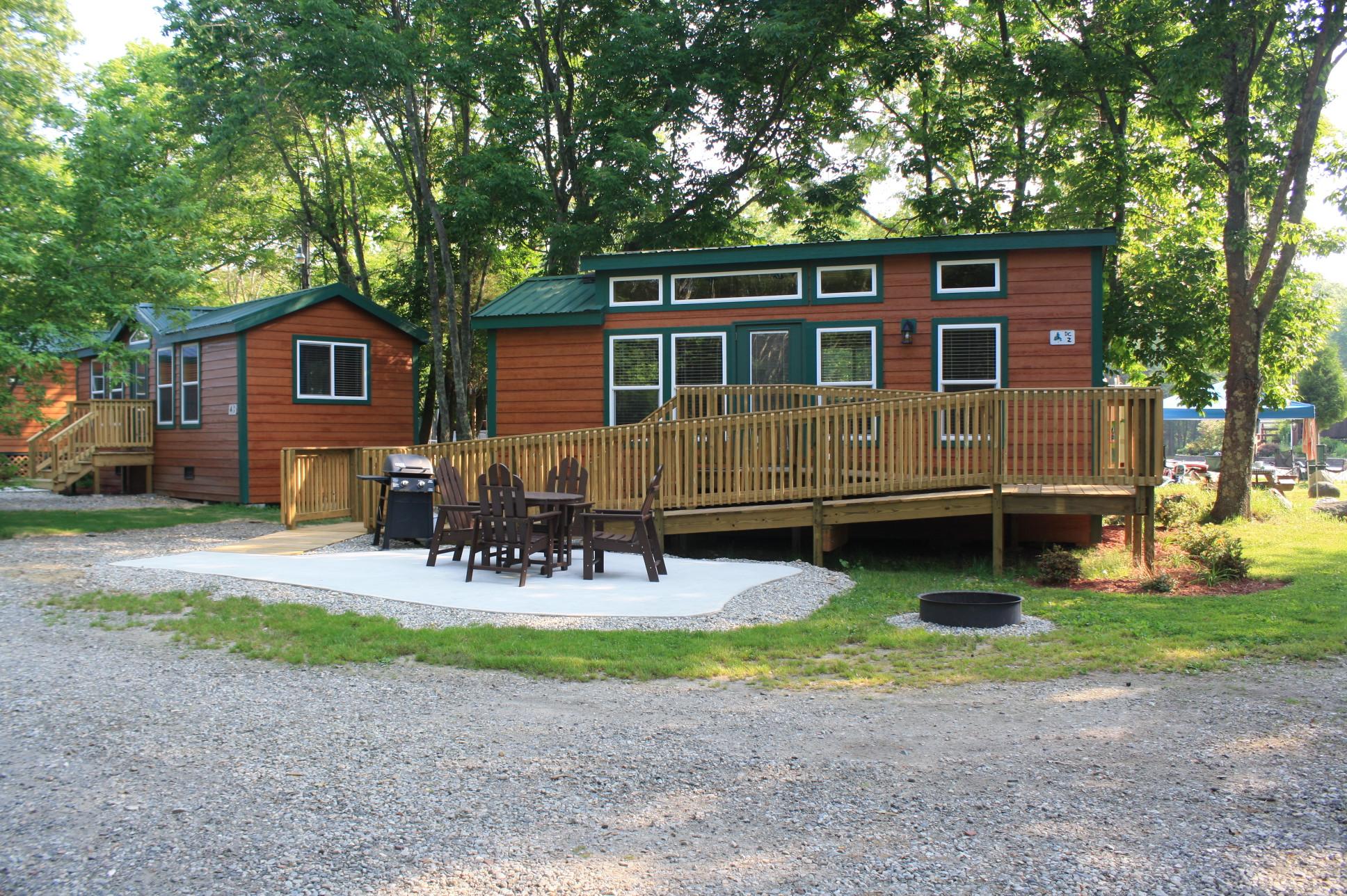 Middleboro Massachusetts Cabin Accommodations  Boston
