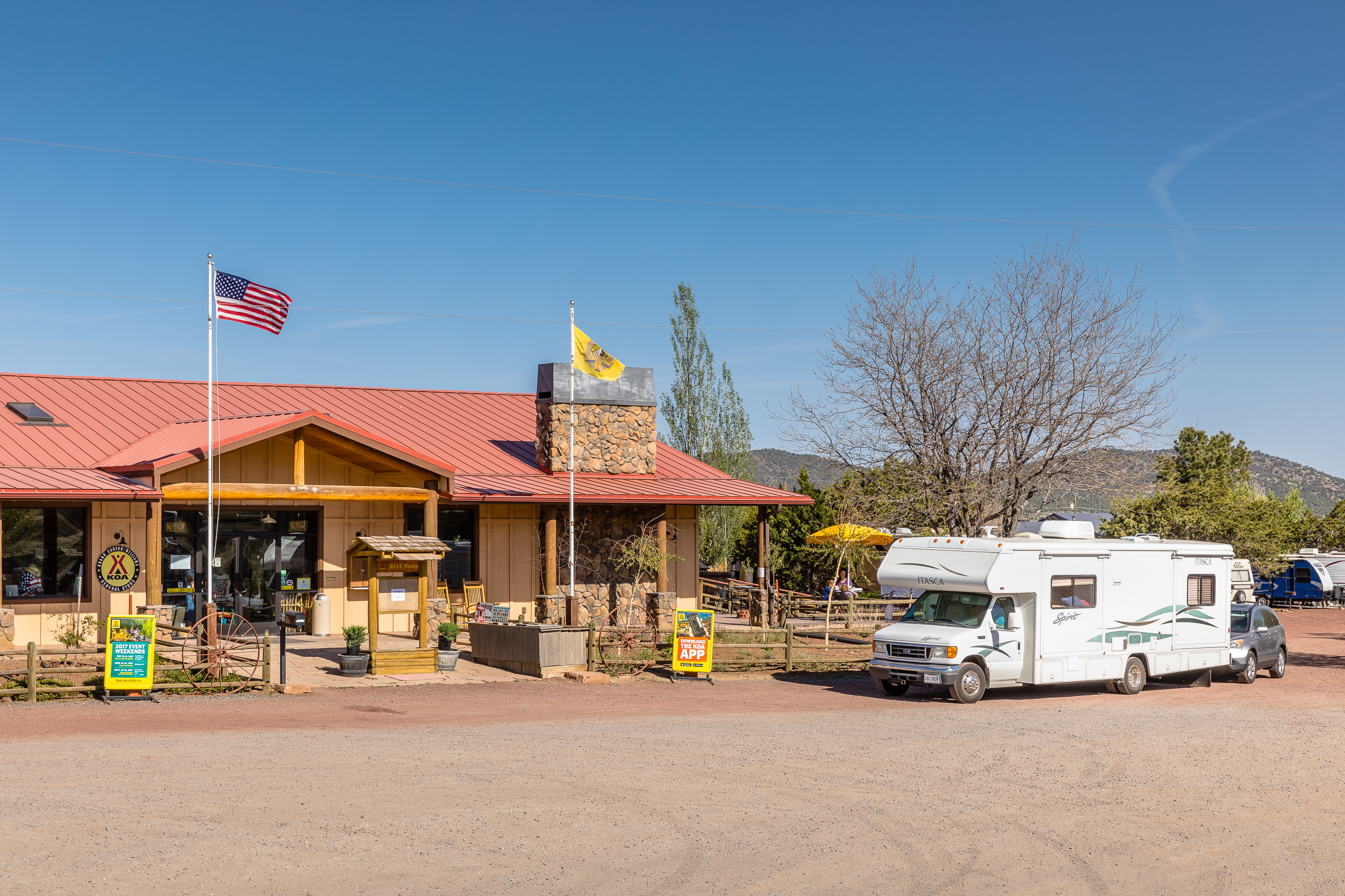 Williams Arizona Campground  Grand Canyon  Williams KOA