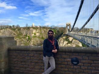 The world famous suspension bridge