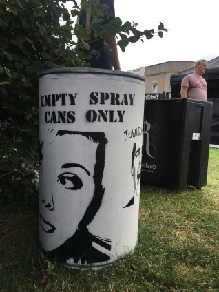 Empty Spray Cans only