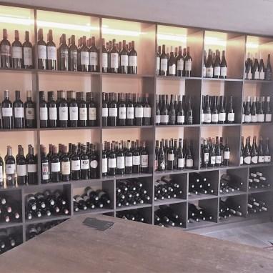 Cave à vin Restaurant Django
