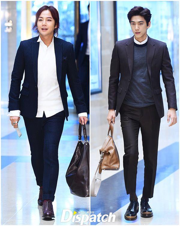 Jang Geun Seok Sung Joon And Lee Jong Seok Attend L