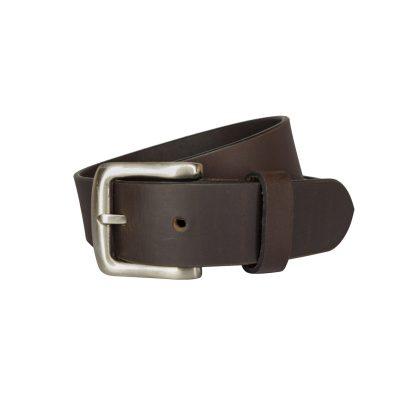 Plain Brown Leather Belts MLB350-BRN