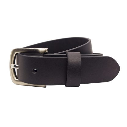 Black Leather Belts MLB320-BLK