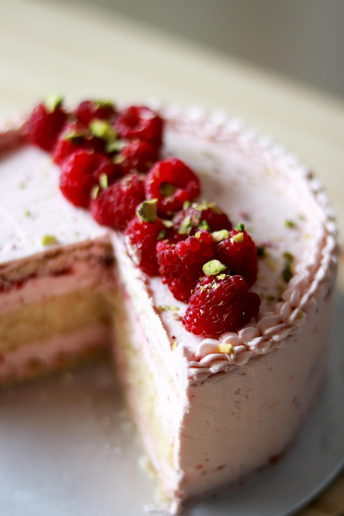 Zuger Kirsch Torte (with raspberry twist) 2
