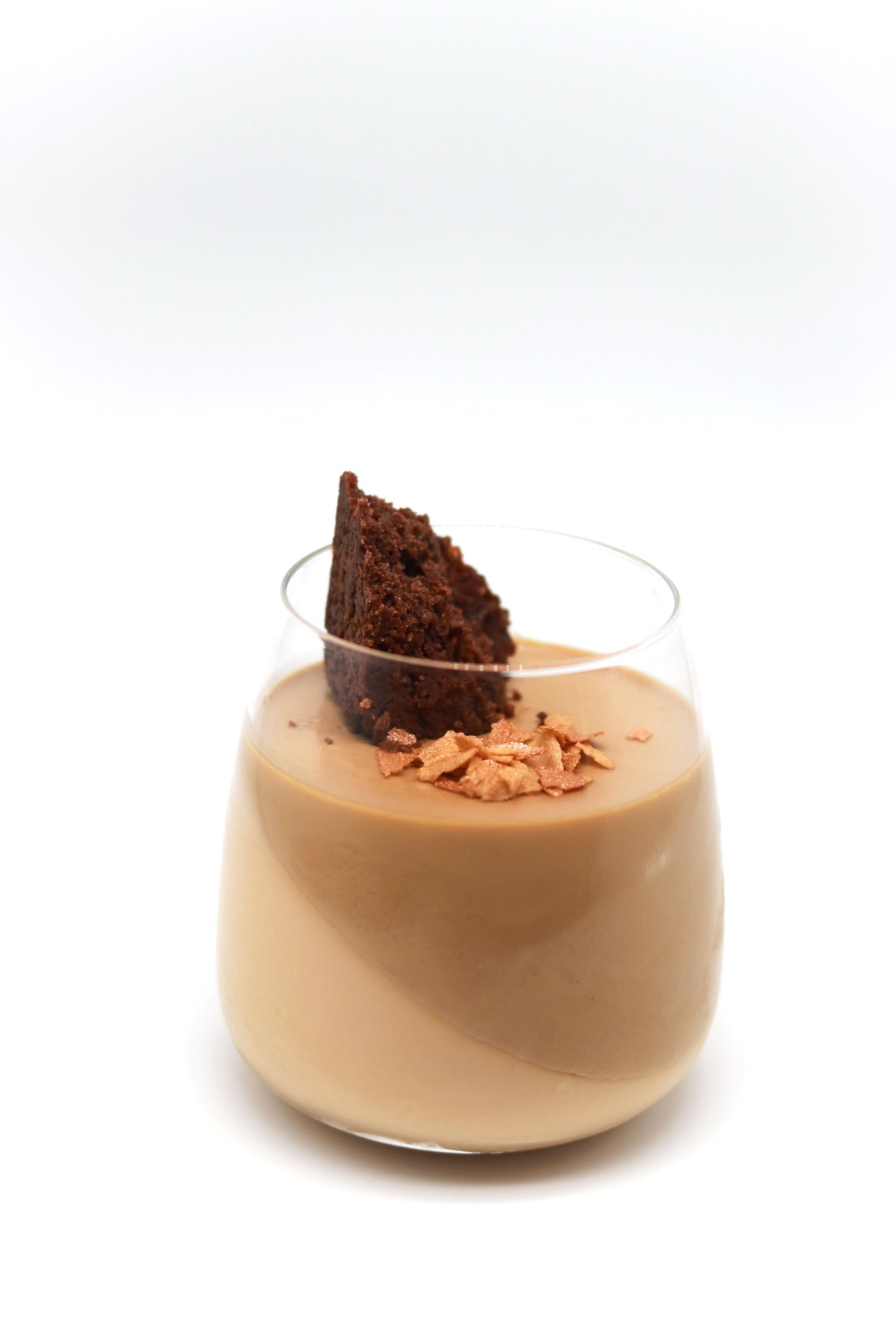 Yuen Yeung - Milk Tea Coffee Panna Cotta with Flourless Chocolate Cake