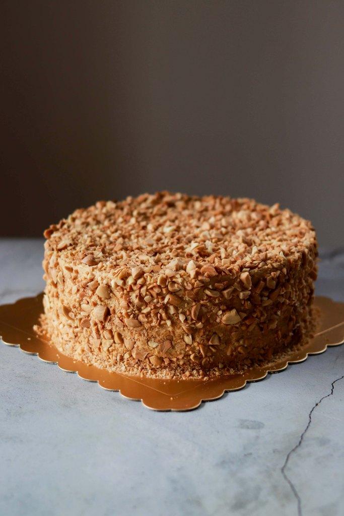 Orange Mocha Cake