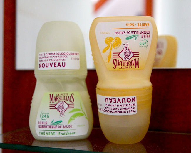 Les déodorants parfumés Le Petit Marseillais