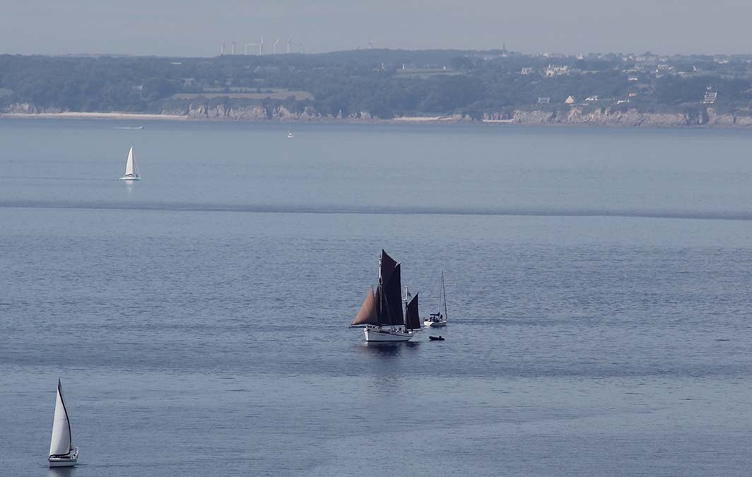 Sortie en mer à bord de la Belle Etoile, à Camaret