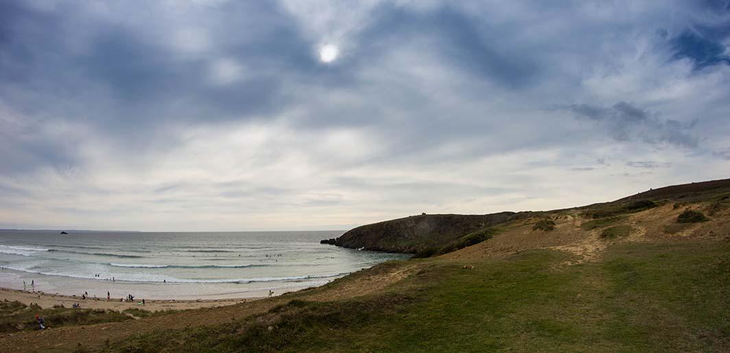 Les surfeurs de Lostmarc'h