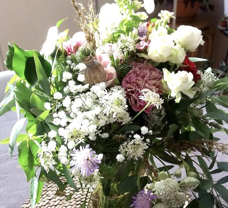 Apéro-bouquet au Bazar à Pétales à Rennes
