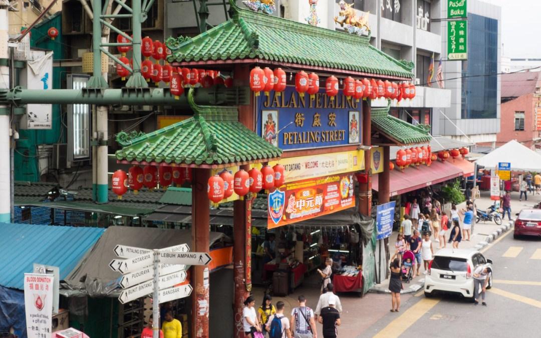 Shopping à Chinatown et Central Market, Kuala Lumpur