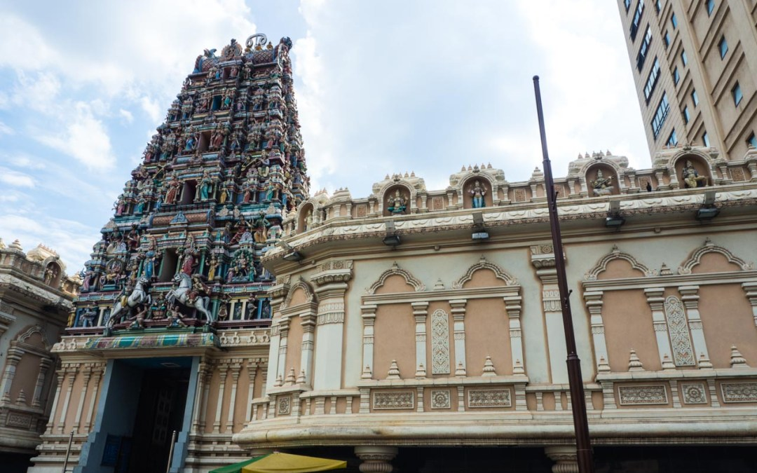 Le temple Sri Mahamariamman à Kuala Lumpur
