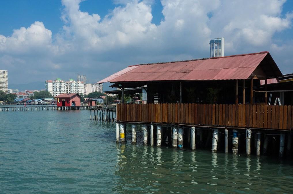 Chew Jetty, un village sur pilotis à Georgetown , Penang