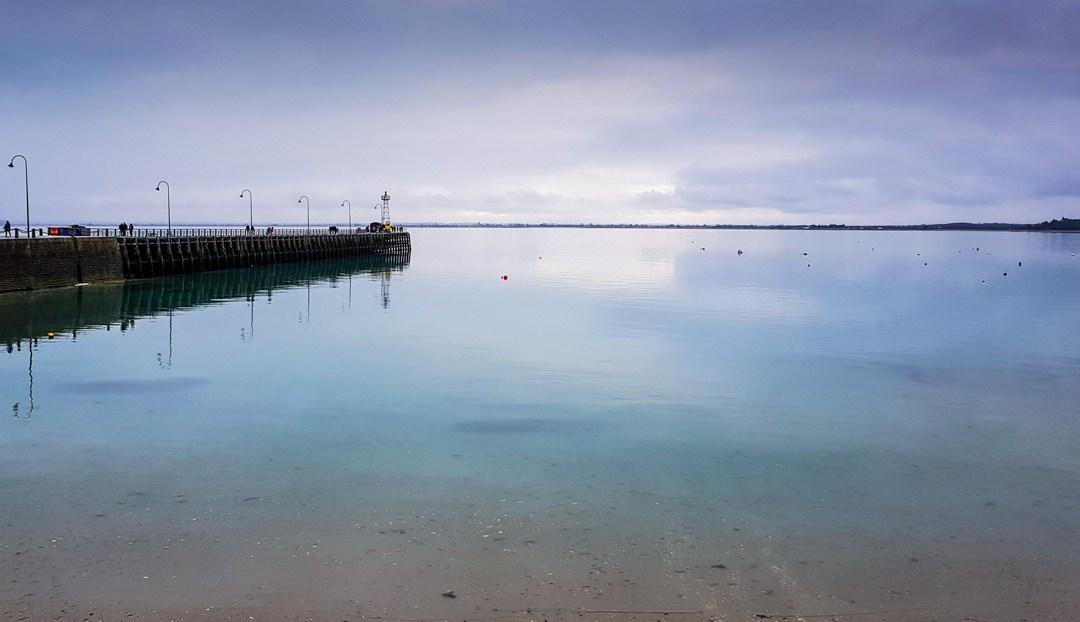 Le port de Cancale fin décembre