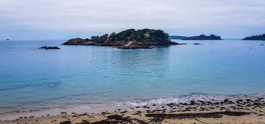 La plage de l'Islet à Lancieux
