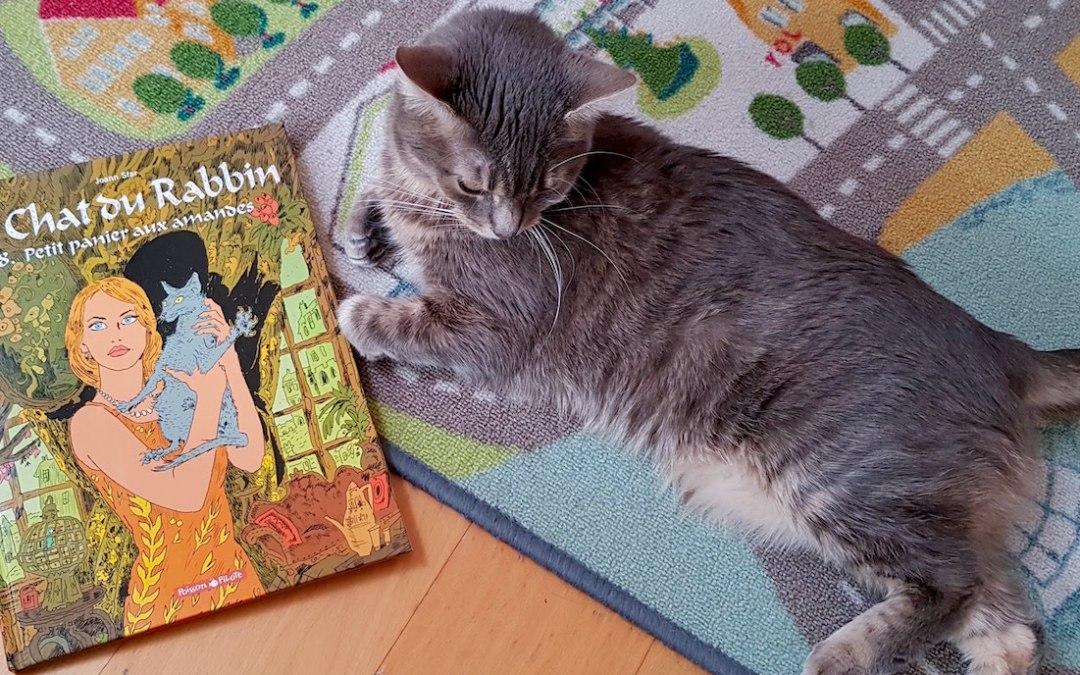 Joann Sfar:  Le Chat du Rabbin tome 8- Petit panier aux amandes. (La BD fait son festival avec Rakuten)