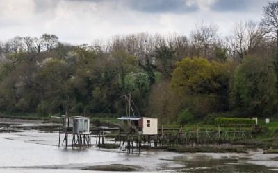 Les cabanes à carrelets de Saint-Samson-sur-Rance