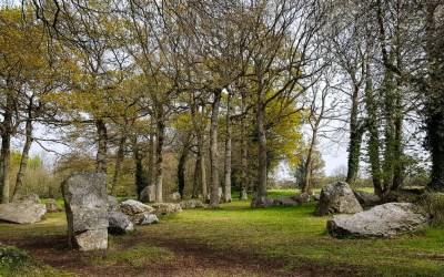 Les mégalithes de Pleslin-Trigavou, Côtes d'Armor