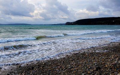 La plage de Trez Bellec à Telgruc-sur-mer, Finistère