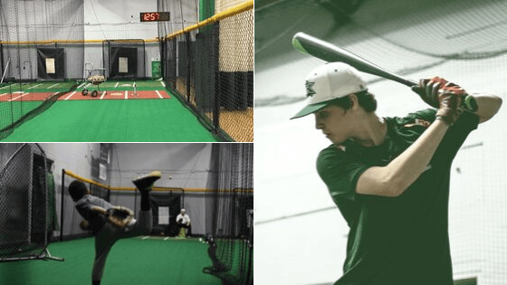 indoor baseball training