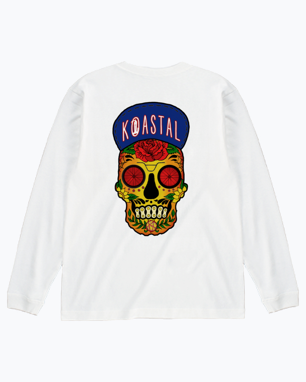 SUGERSKULL L/S TEE COLOR