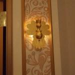 The pop icon's room