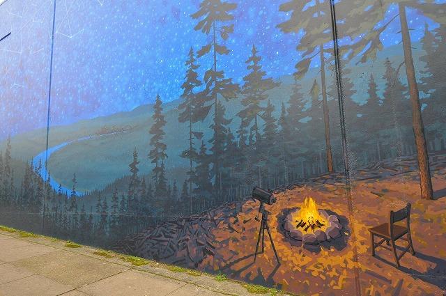 壁画の街、ポートランド