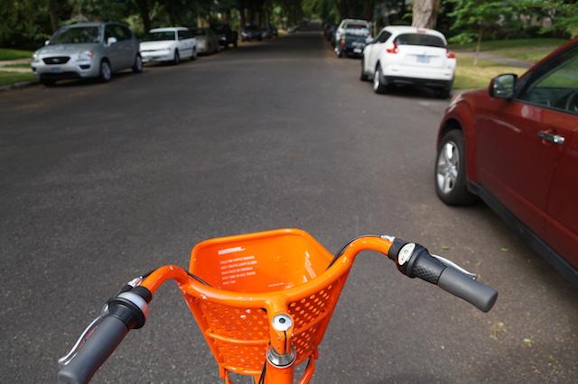 自転車の街、ポートランドのBIKETOWN(バイクタウン)