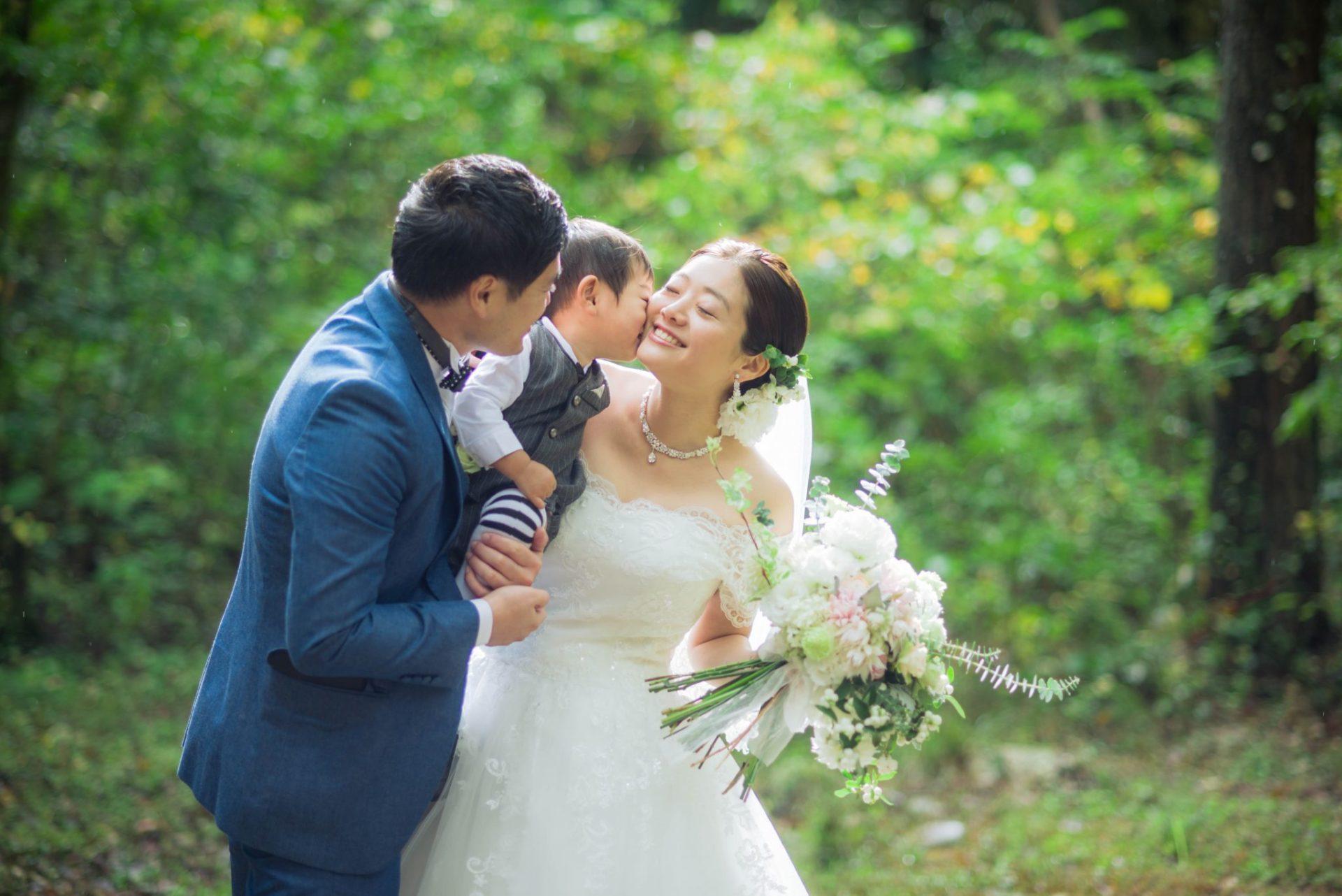 べるが(verga)での結婚式-キス