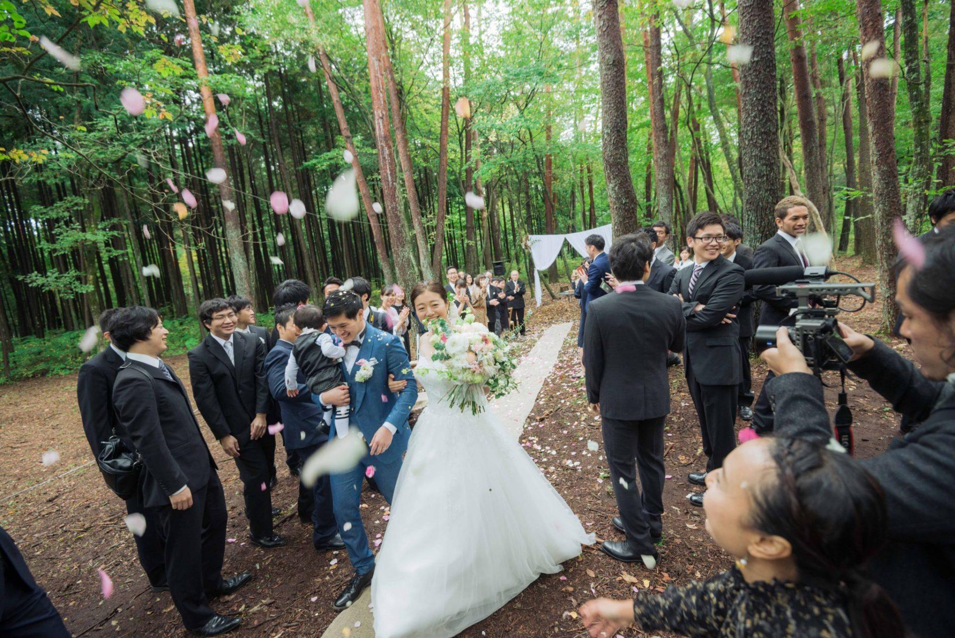 べるが(verga)での結婚式-退場