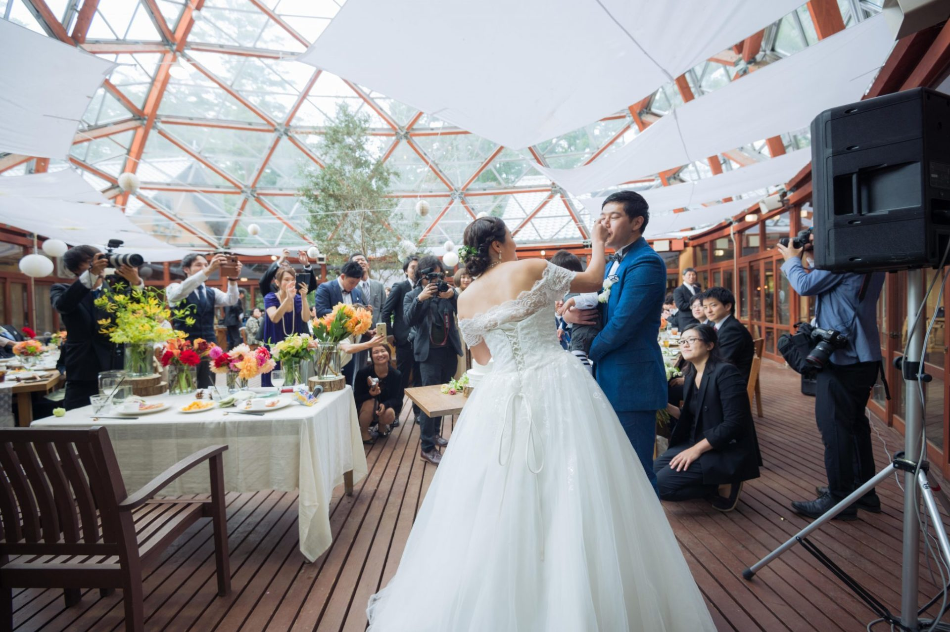 べるが(verga)での結婚式-ファーストバイト