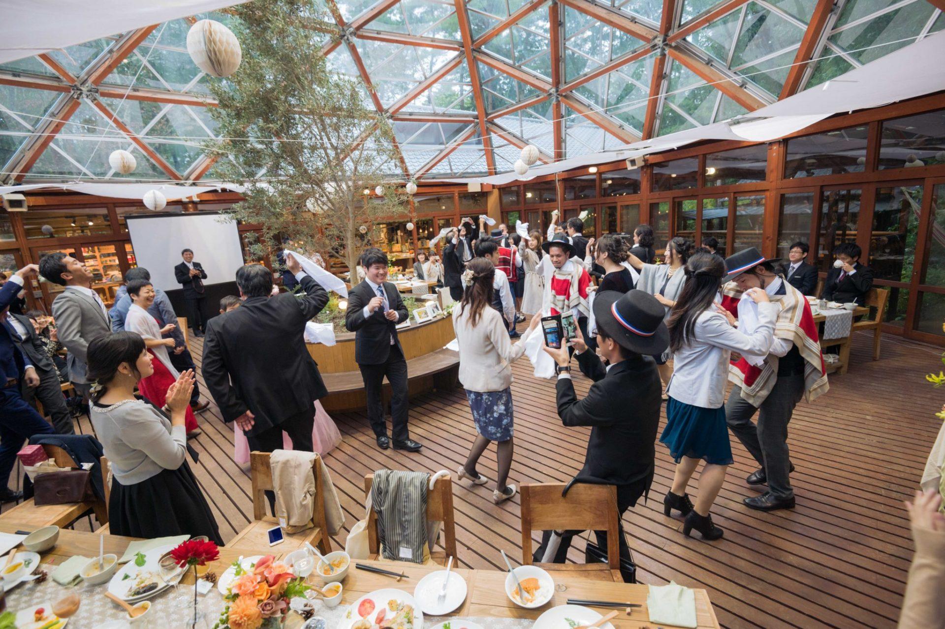 べるが(verga)での結婚式-チリ