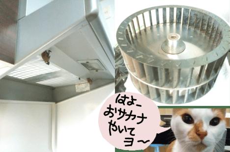 シロッコファン_レンジフード_掃除後_きれい