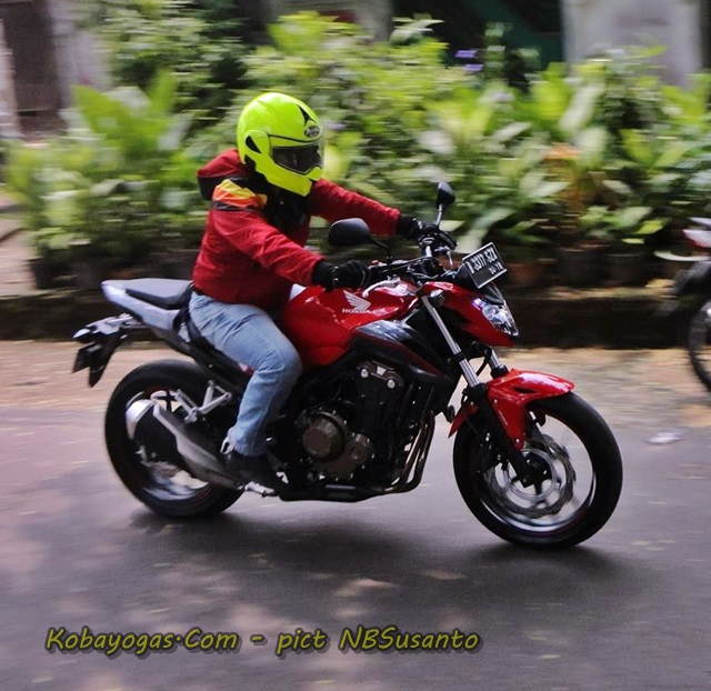 Test Ride New CB500F kobayogas 2